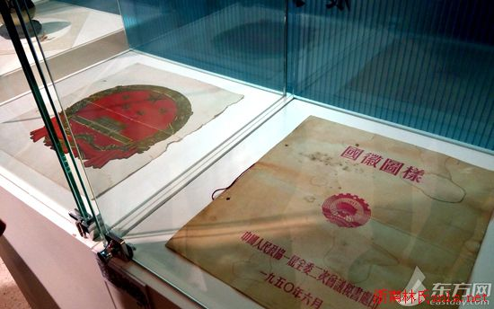 林徽因诞辰110周年纪念特展在上海举行(附新中国国徽设计稿)